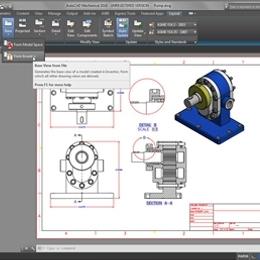為 3D CAD 製作圖面