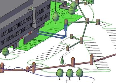 視覺化的地下設施
