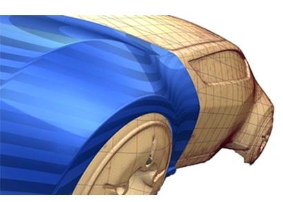 控制CV點雕塑3D曲面