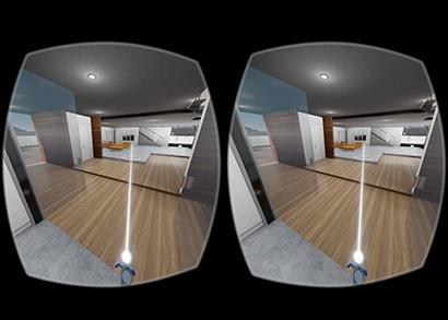 將BIM模型轉換工作流程的VR可視化。