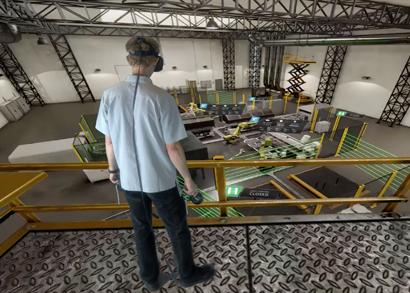 工業4.0的AR/VR結合