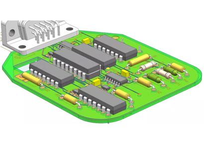 PCB板的數位化模型